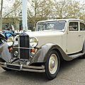 <b>DELAGE</b> D4 berline 4 portes 1934
