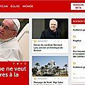 Le vatican ouvre son nouveau portail d'information : « vatican news »