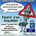 Conférence-débat sur les ondes électromagnetiques