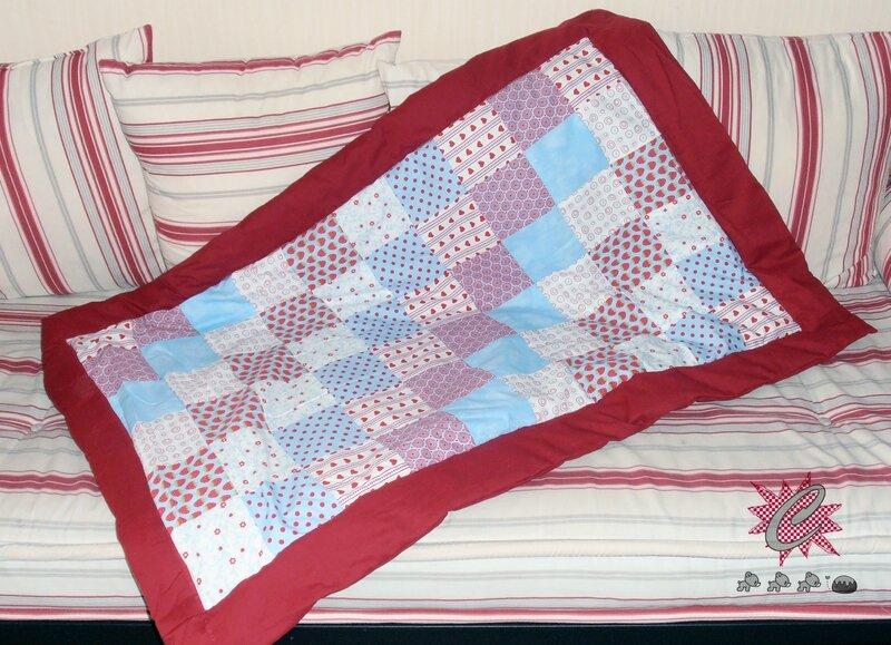 couture couverture couette pour lit b b lavable 60 c le monde de c l naa. Black Bedroom Furniture Sets. Home Design Ideas