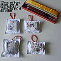 Les coussins lavande d'inspiration asiatique
