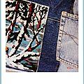 Recup jean-canevas + rappel gang de la wool