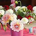 Le bouquet du dimanche 39/2016 : un bouquet d'anniversaire
