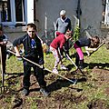 Le jardin de l'école de st laurent le minier, chapître 2