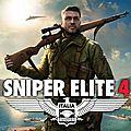 Le premier story trailer de Sniper Elite 4 met l'Italie à l'honneur