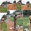 Les malades mentaux de la ville de Bangui