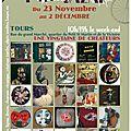 Hiver 12-13: Ptit bazar de l'atelier Rouge Pistache-Tours