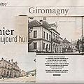Rubrique ''D'hier à aujourd'hui'' dans Le Mag ER : Giromagny (90)
