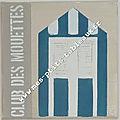 Ptite Cabine club des Mouettes Coloris Bleu