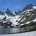 Lac de Lhurs, Table des Trois Rois et Dec de Lhurs (64)