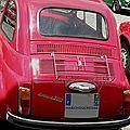 Fiat 500 arrière