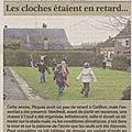13 Course aux oeufs La Voix du Nord du mardi 16 avril 2013