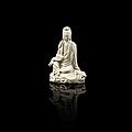 Statuette de Guanyin en porcelaine Blanc de Chine, Chine, dynastie Qing, <b>XVIIIe</b>-<b>XIXe</b> <b>siècle</b>
