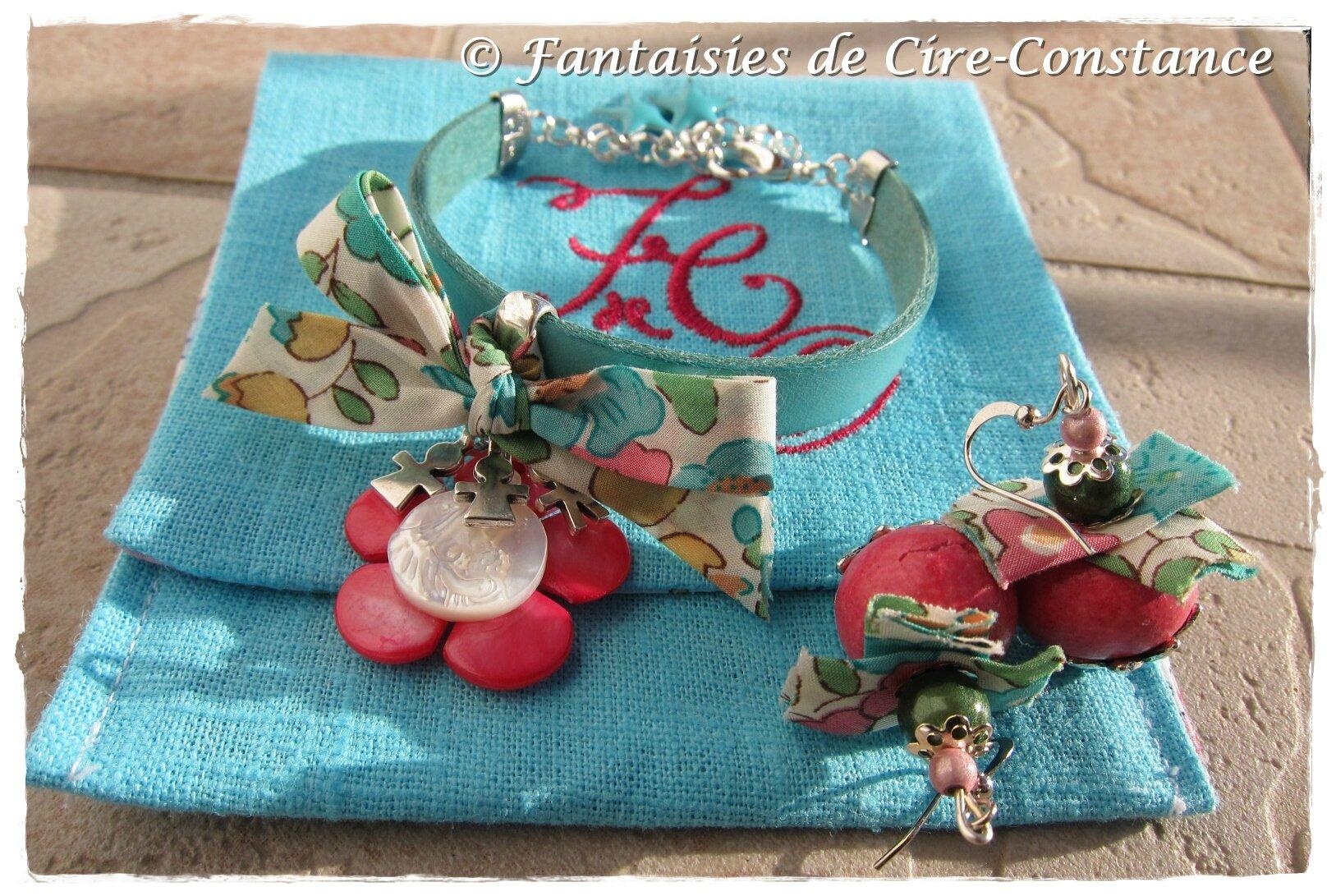 Bracelet Diane Vierge en nacre enfants