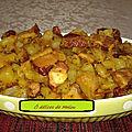<b>Boucané</b> aux pomme de terre frite