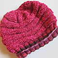 Slouchy beehive hat