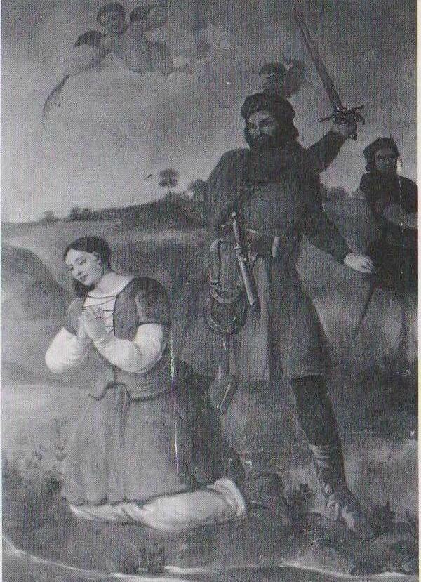 Le martyr de la petite bergère Solange