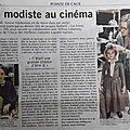 Souvenir,souvenir ( article de presse)