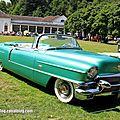 Cadillac eldorado biarritz convertible de 1956 (37ème internationales oldtimer meeting de baden-baden)
