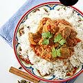 Curry d'agneau { korma }