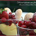 Dessert minute de titounette