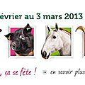 Salon de l'Agriculture 2013 INFO - Calendrier - Résultats