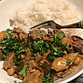 Curry d'Aubergines