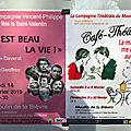 Spectacles, expos, lectures L'Haÿ-les-Roses, Bourg-la-Reine, Paris février-mars + programme de mars 2019 du Verbe <b>Poaimer</b>