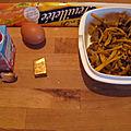 Pâte feuilletée 1/4 : en entrée: potage des bois