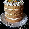 Naked cake pour l'anniversaire de farah