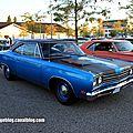 Plymouth road runner hardtop coupe de 1969 (Rencard Burger King septembre 2012) 01