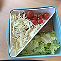 Le bento super <b>sain</b> : mon sandwich revisité healthy !