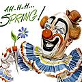 clownerie.. de printemps !
