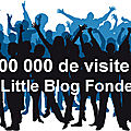 Un million de visiteurs sur my little blog fonderie