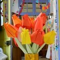 Activité pour les enfants: origami tulipe