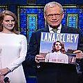 Lana Del Rey chez <b>David</b> <b>Letterman</b>