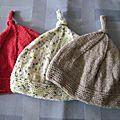 Bonnets pour petits lutins