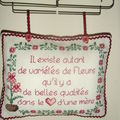 Broderie pour maman