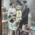 Carte postale ancienne * 1916 *