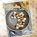 Dessert très citron chantilly verveine & <b>noix</b> de <b>coco</b>