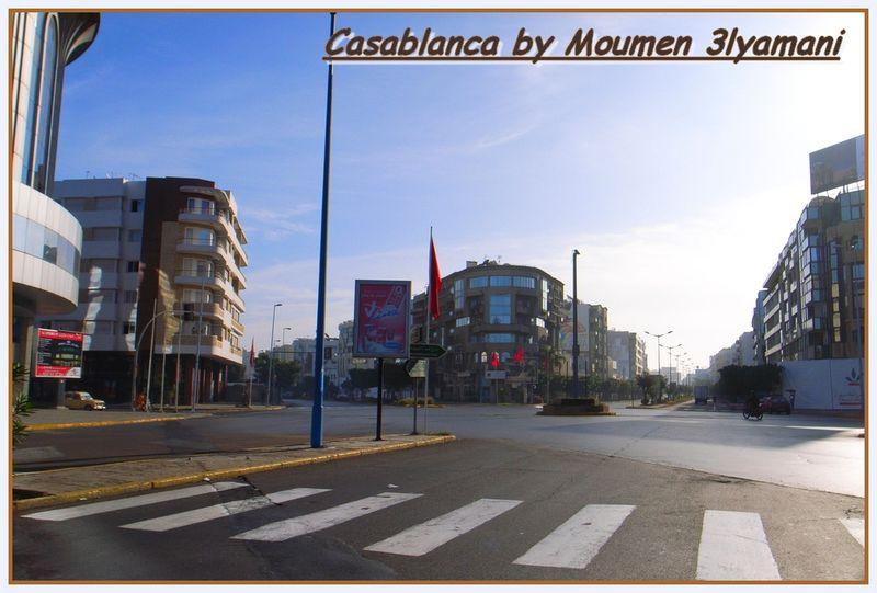 Rue Massira Casablanca