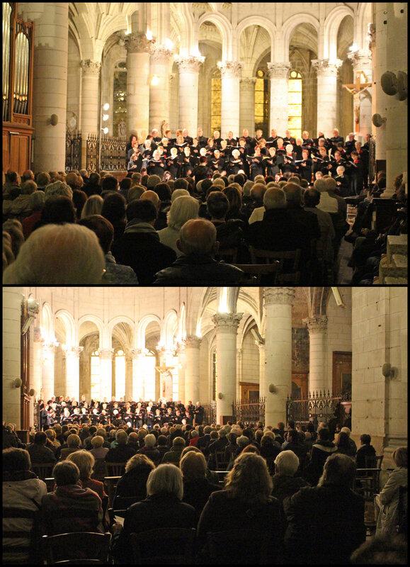29- le public à l'église St Pierre