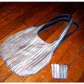 Un sac en tissu indien