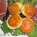 Un tour en cuisine (406) : boulettes de mozzarella panees