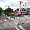 Aménagement du quartier de la gare d'<b>Ermont</b>-Eaubonne : un petit point sur le chantier avant le début des vacances d'été