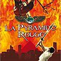 Chroniques des <b>Kane</b>, t1 : La pyramide rouge, de Rick Riordan