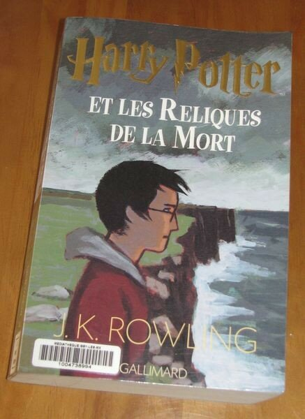 Harry Potter tome 7
