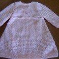 robe layette 3 mois bdf