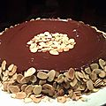 Reine de saba au chocolat et amandes de julia child - by claire -