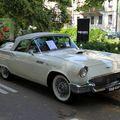 Ford thunderbird convertible continental kit de 1957 (34ème Internationales Oldtimer meeting de Baden-Baden) 01